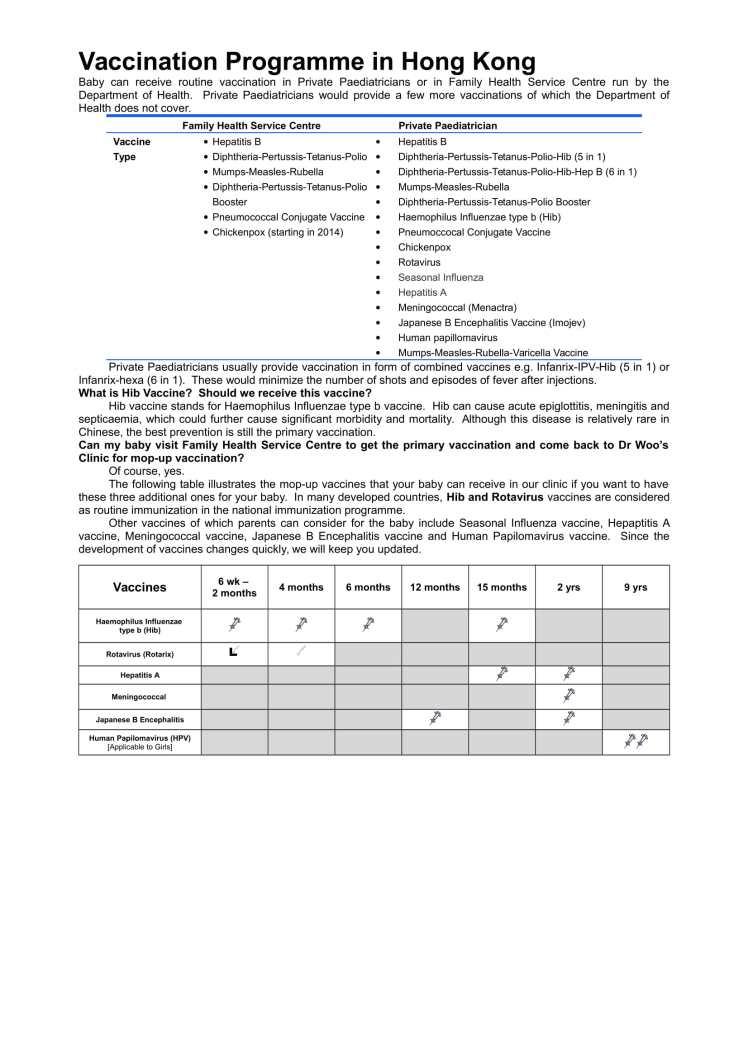 Vaccination Programme in Hong Kong English Jan 2019 Page 2-1